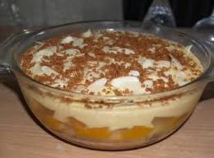 Peaches, Graham crackers & Whipped Cream Dessert Recipe