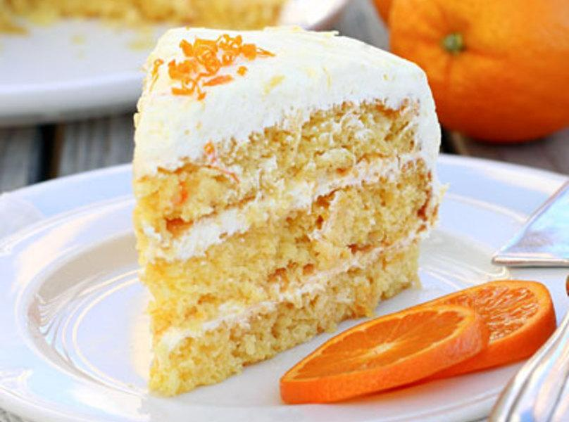 Easy Pineapple Orange Layer Cake Recipe | Just A Pinch Recipes