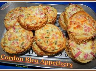 Cordon Bleu Appetizers