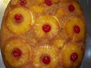 Pineapple Upside Down Cake (moms) Recipe