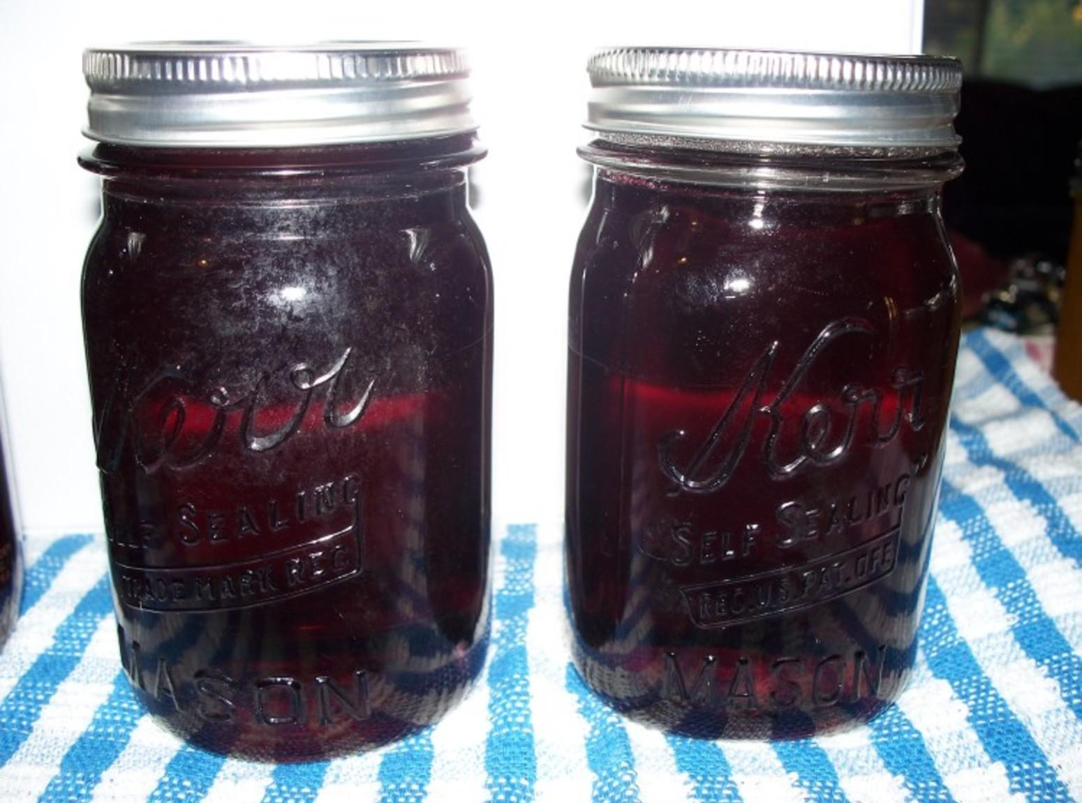 Apple or Grape Jelly made with Canned Juice Recipe