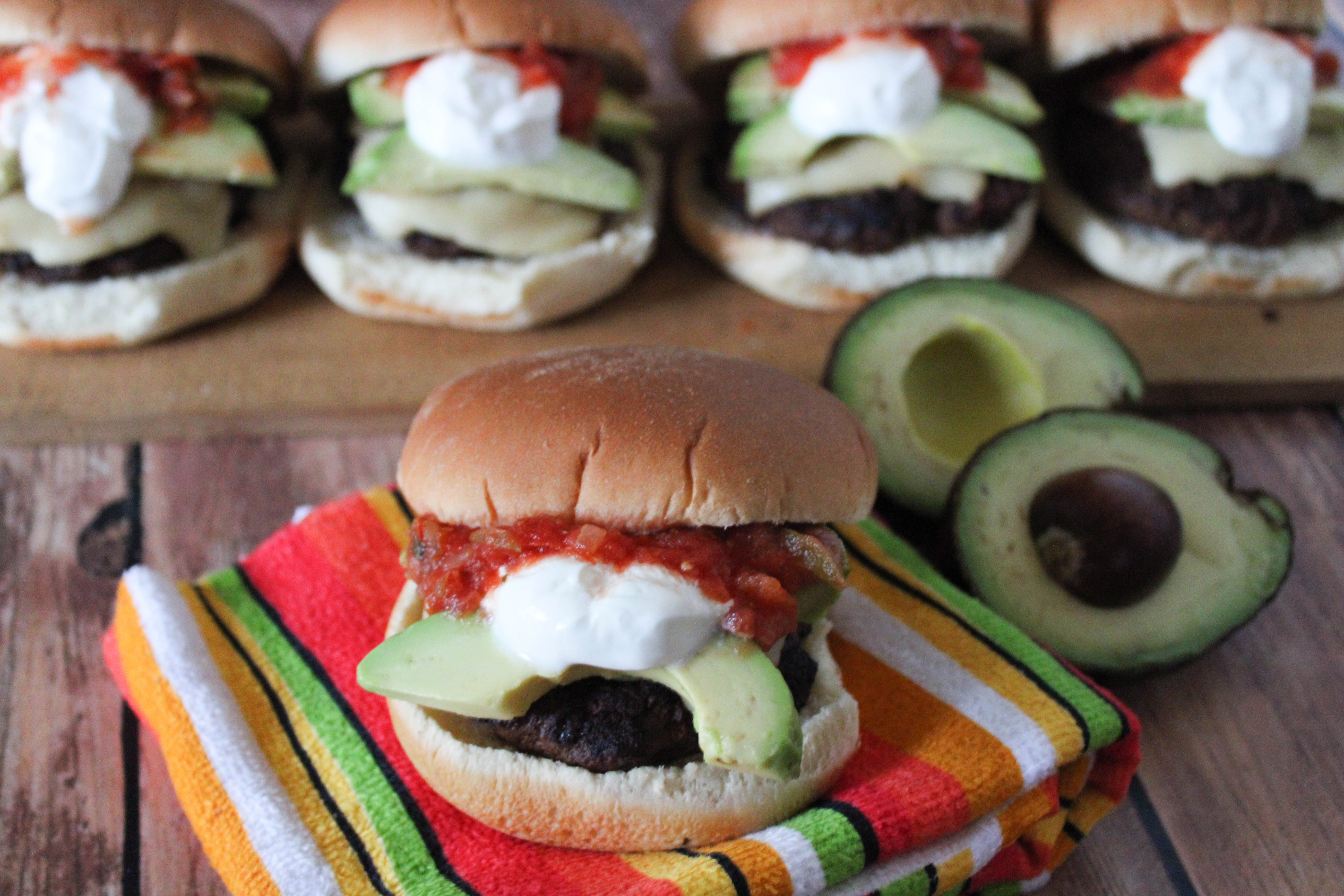 Grilled Pico Burgers Recipe