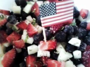 Red White & Blue Salsa Recipe
