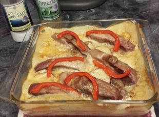 Pork Chops En Casserole (1941) Recipe