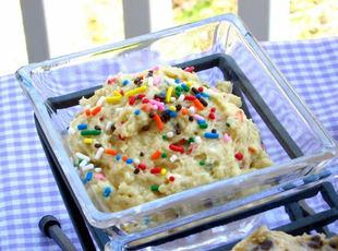 Safe-to-Eat Cake Batter Cookie Dough Recipe