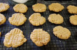 New Peanut Butter or Almond Butter Cookies