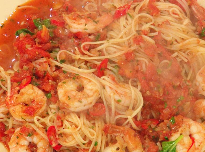 Shrimp Fra Diavolo with Linguini Recipe | Just A Pinch Recipes