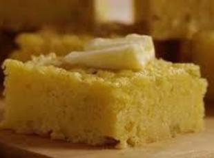 Sweet, Moist, Buttery Corn Bread