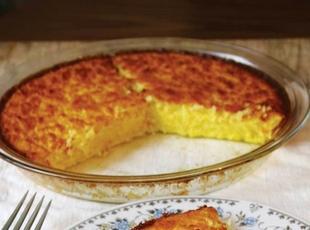Nana's Magic Crust Coconut Pie Recipe