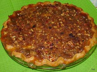 Pecan Praline Peach Pie Recipe