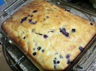 Blue Ribbon Blueberry Coffee Cake Recipe
