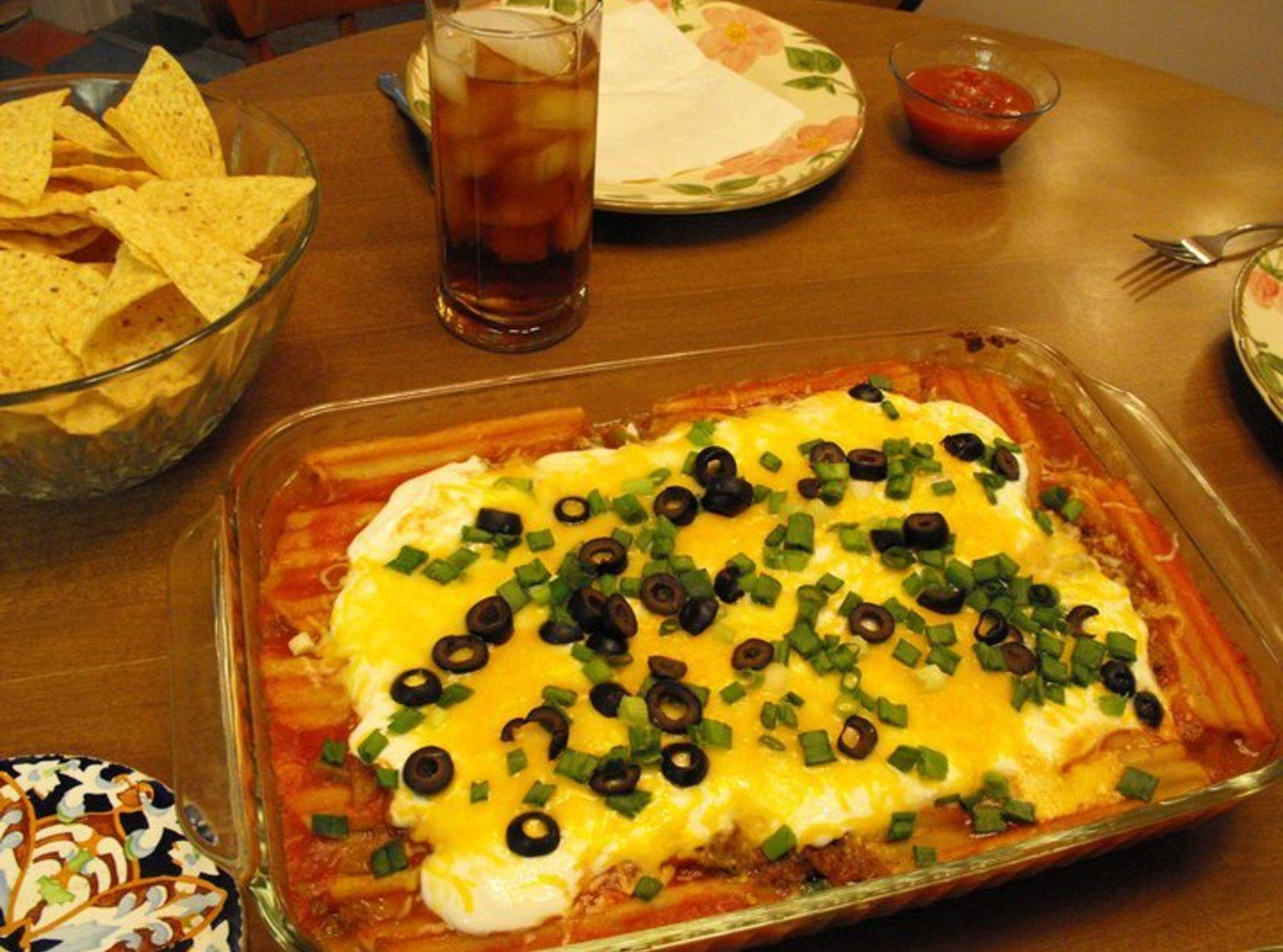 Mexican Manicotti Recipe