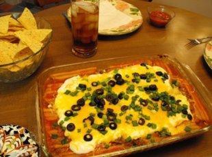 Mexican Manicotti Recipe