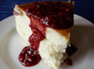 Raspberry Gran Marnier Cheesecake Recipe