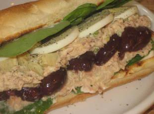 Mediterranean Inspired Tuna Sammies Recipe