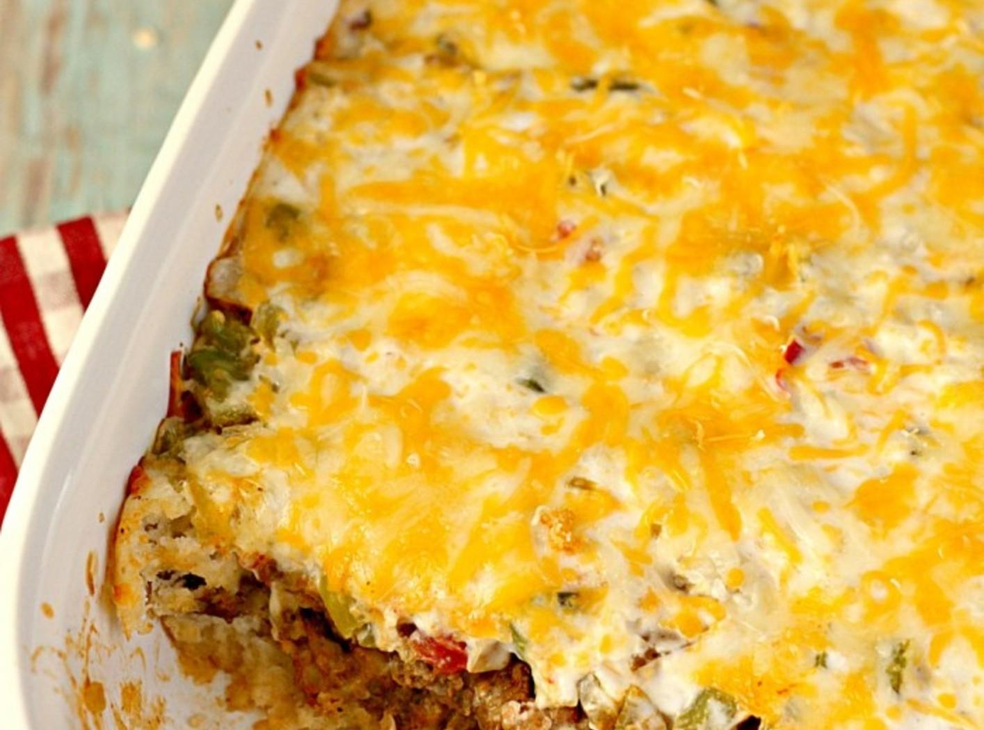 John Wayne Casserole (Beef and Biscuit Casserole) Recipe ...