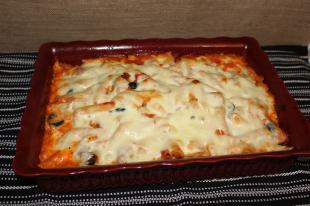Chicken Penne Pasta Casserole