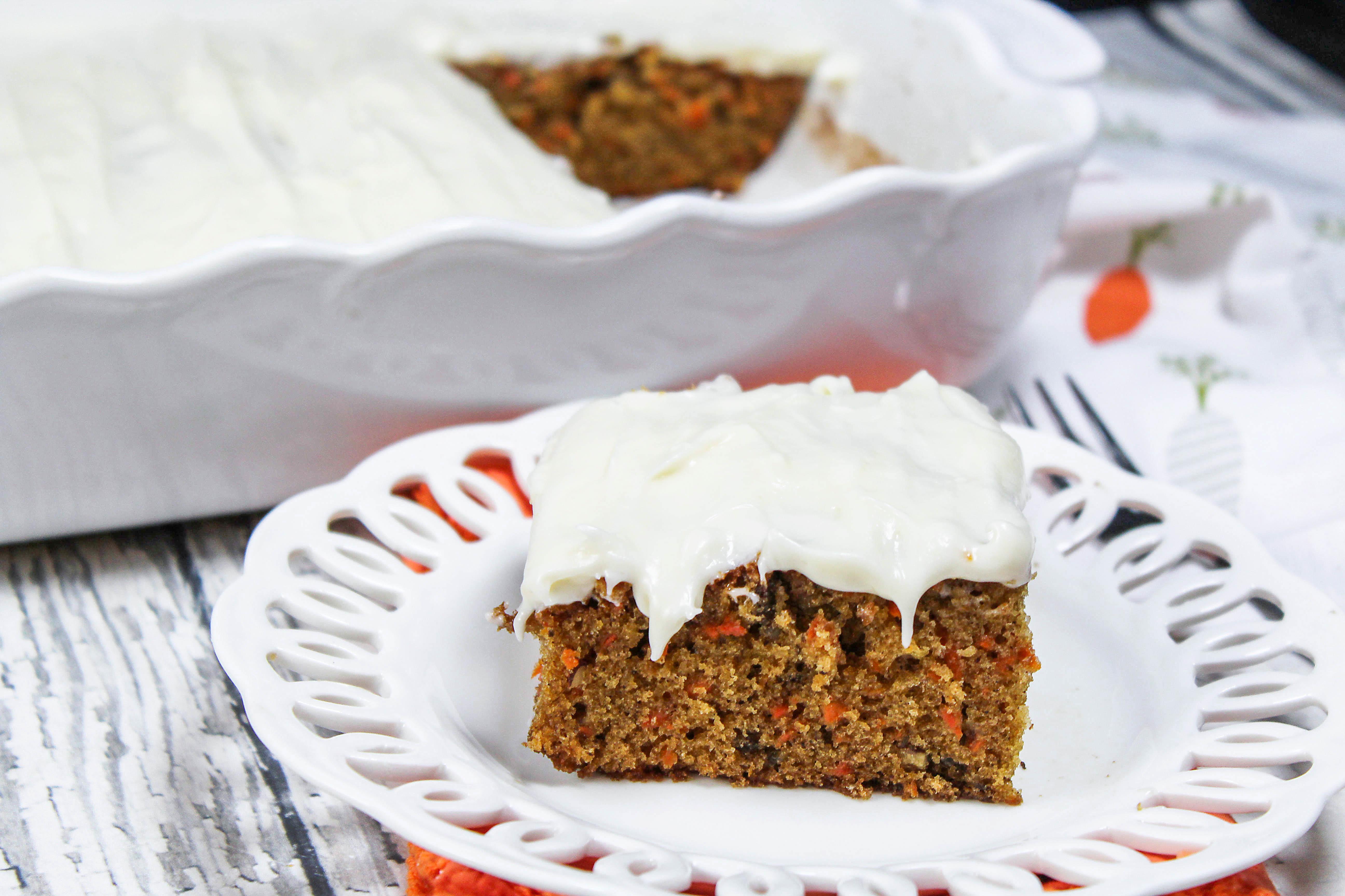 Bette's Best Carrot Cake Recipe