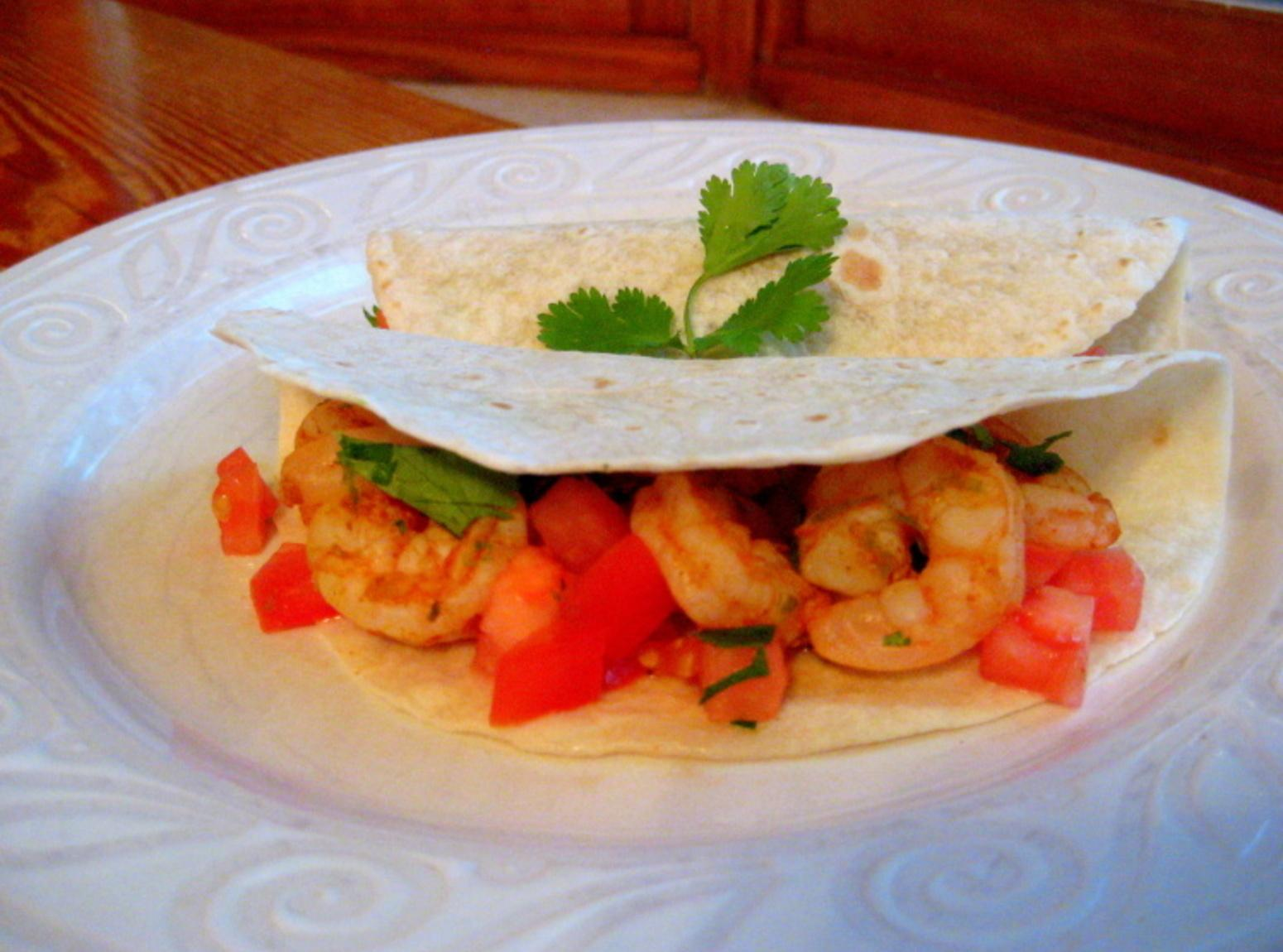 Chipotle Lime Shrimp Tacos Recipe | Just A Pinch Recipes