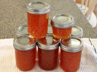 Hot Pepper Jelly (Plain or Pineapple-Pumpkin) Recipe