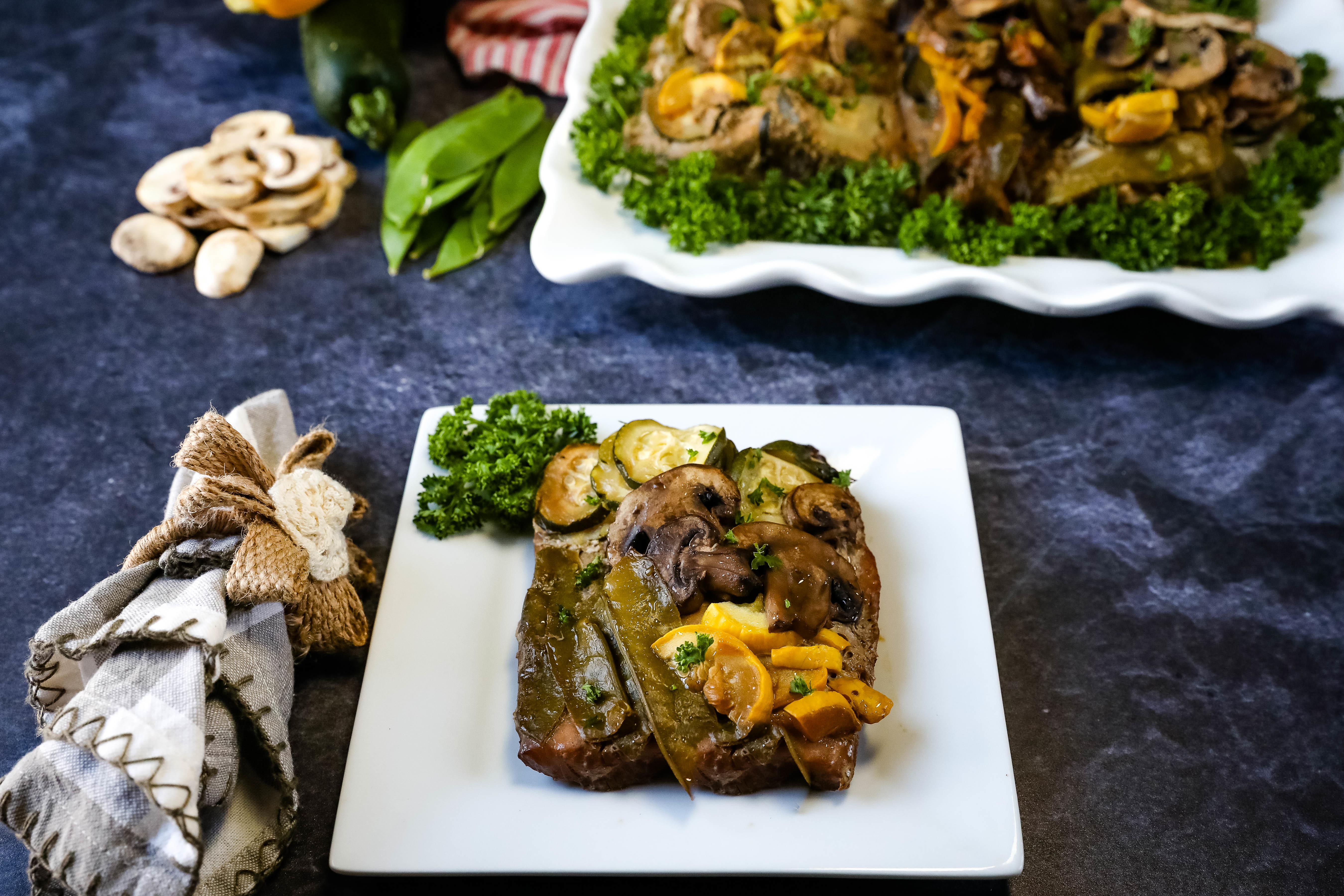 Summer Grillin' Vegetable & Fish Bundles Recipe