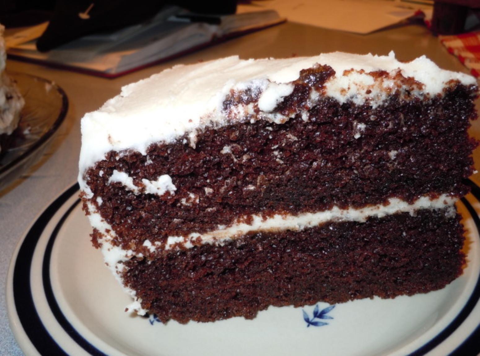 VERY MOIST DEEP DARK CHOCOLATE CAKE Recipe