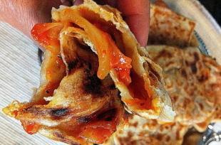 Algerian M'hajeb - Traditional Filled Pastry Recipe