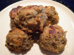 Eggplant Parmesan balls baked or fried Recipe