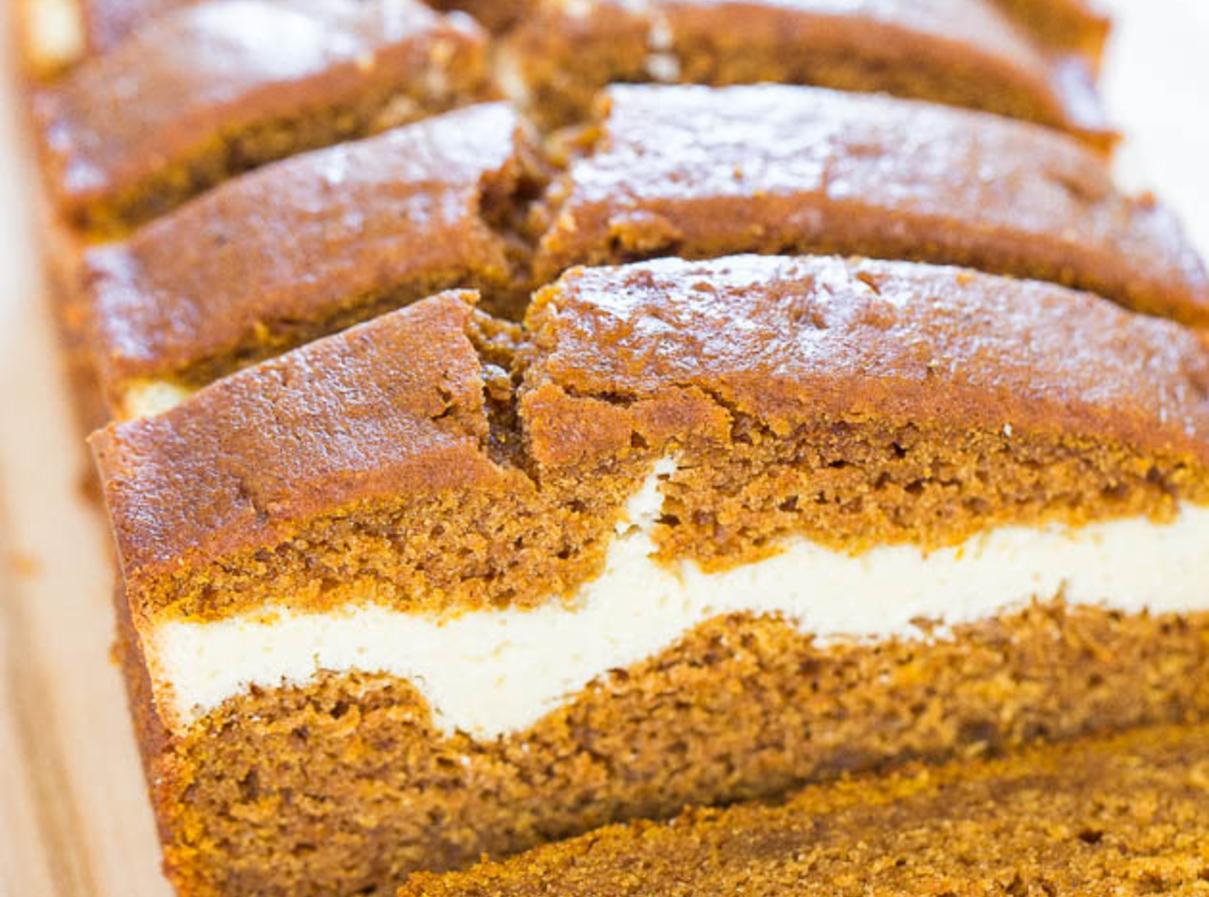 Cream Cheese Filled Pumpkin Bread Recipe Just A Pinch
