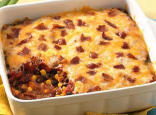 Bean and Bacon Fiesta Dip Recipe