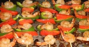 VANILLATED SHRIMP KEBAB Recipe