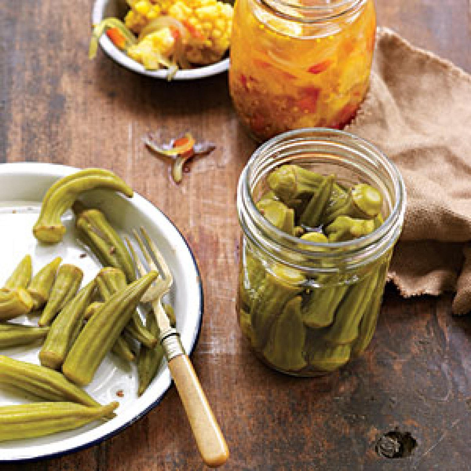 Pickled Okra Recipe 5 | Just A Pinch Recipes