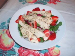 Berried Spinach Salad Recipe