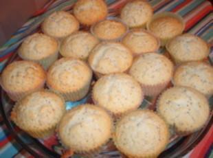 Almond Poppy Seed Muffins Recipe