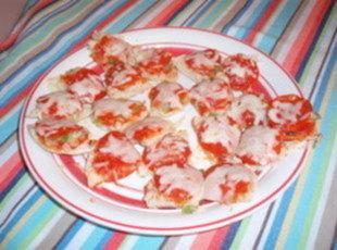 Bite Size Pepperoni Pizza Recipe