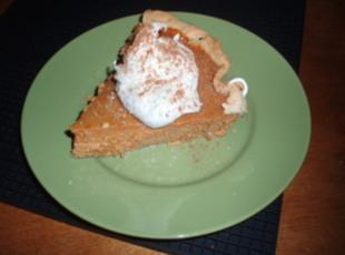 Spiced Pumpkin Pie Recipe