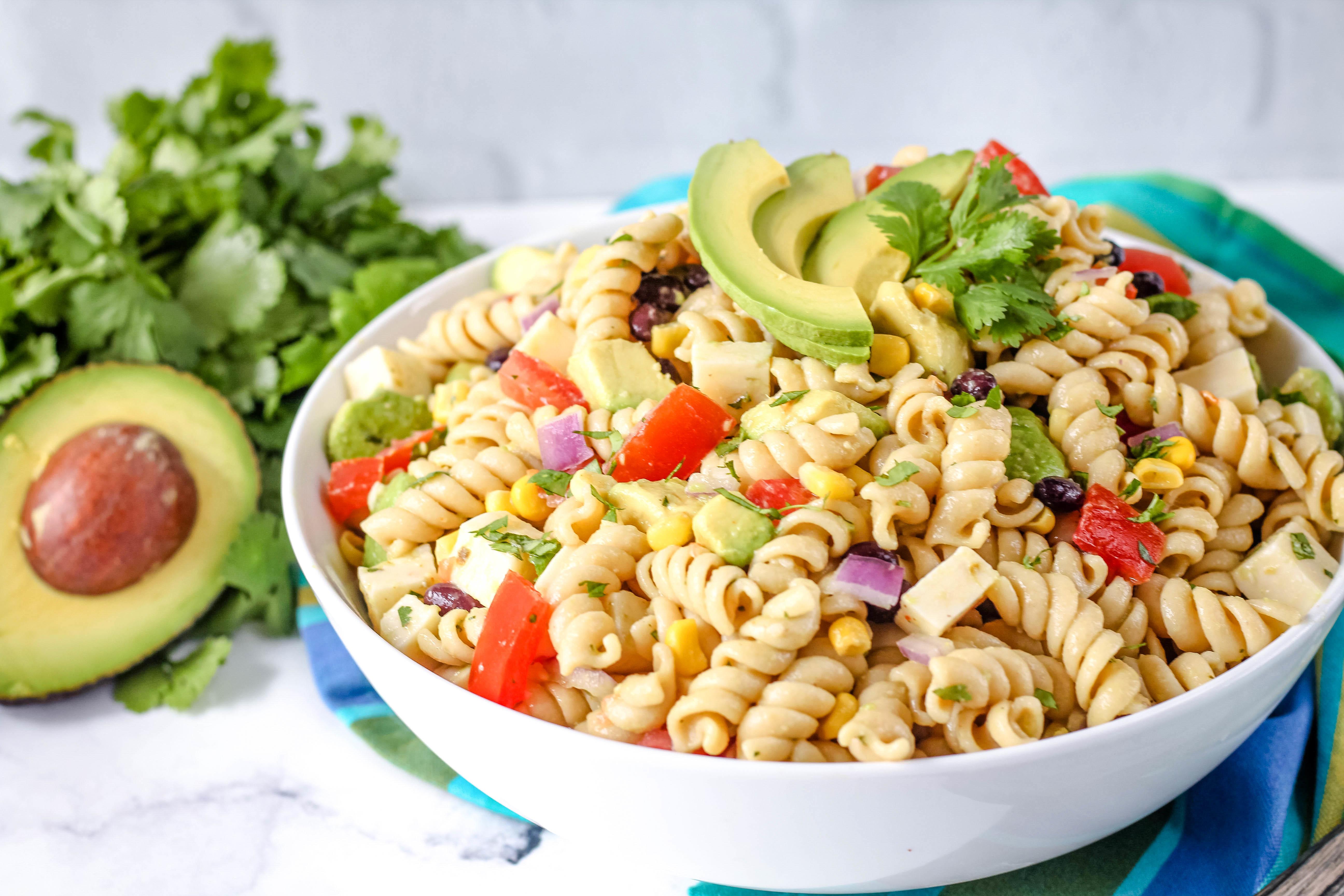 Millie's Holy Guacamole Pasta Salad Recipe