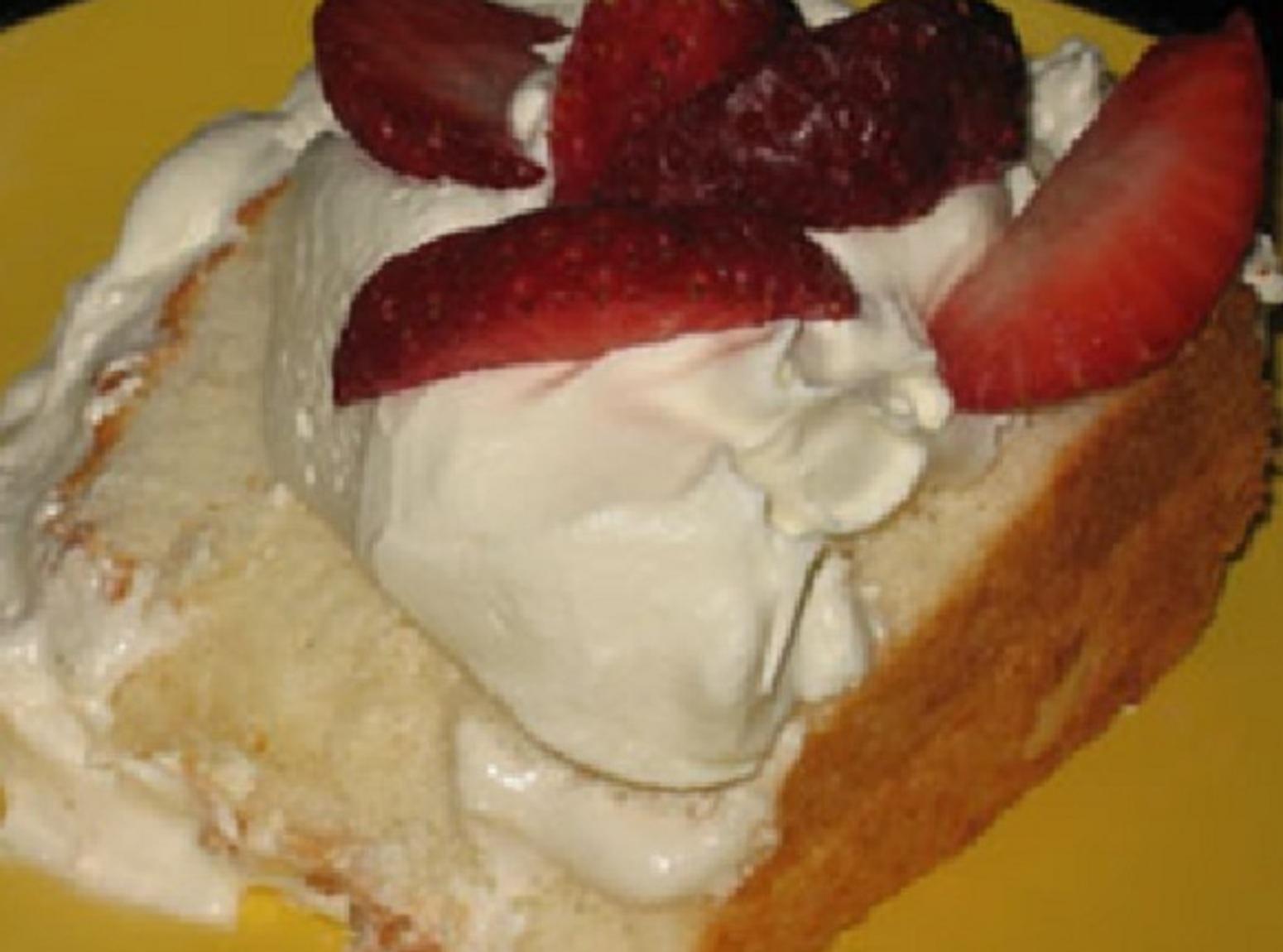 Homemade Angel Food Cake Recipe