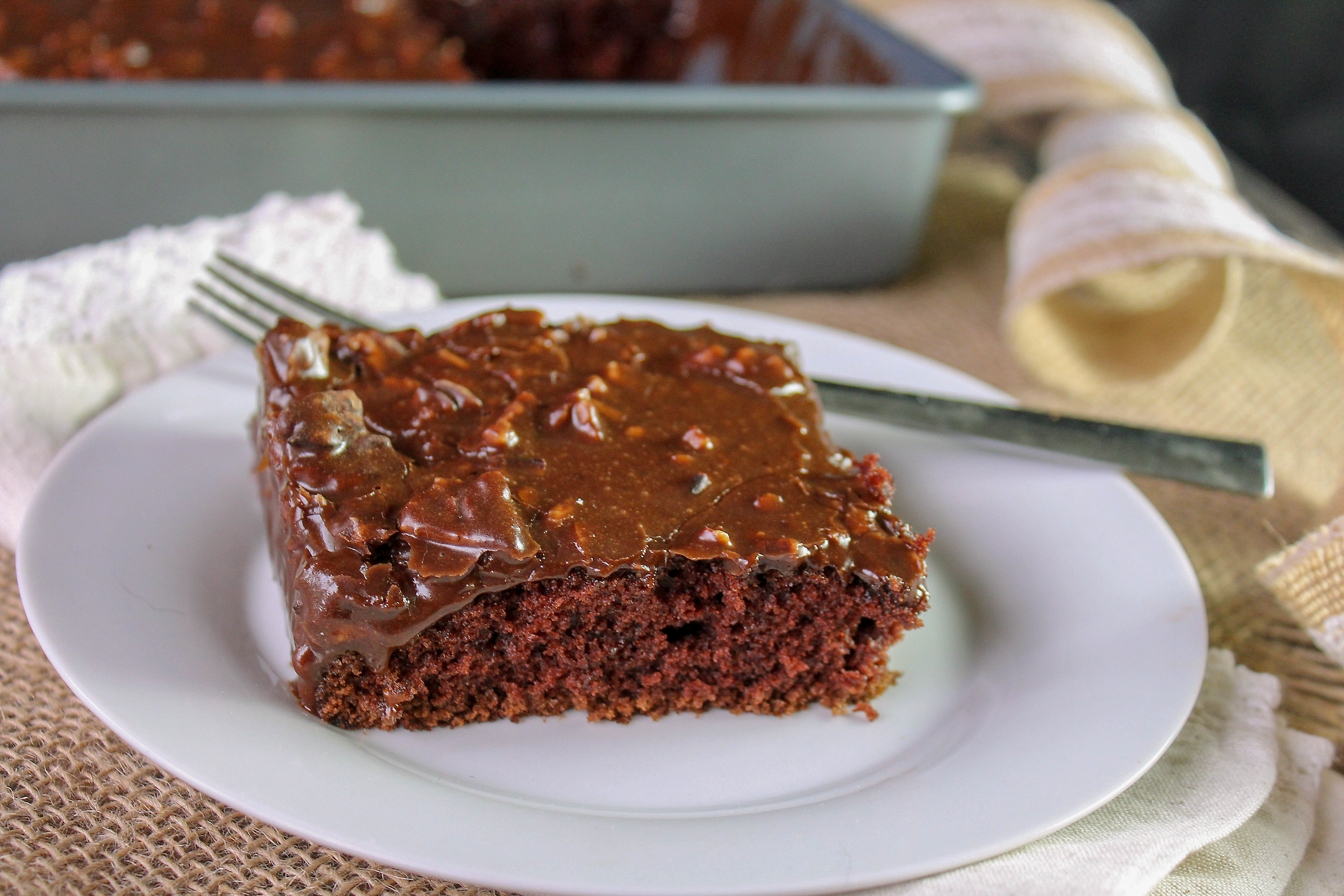 Sheet Cake That Taste Like Browines Recipe