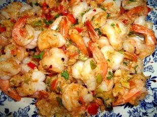 Best Darn Parm Shrimp  - Cassie Recipe