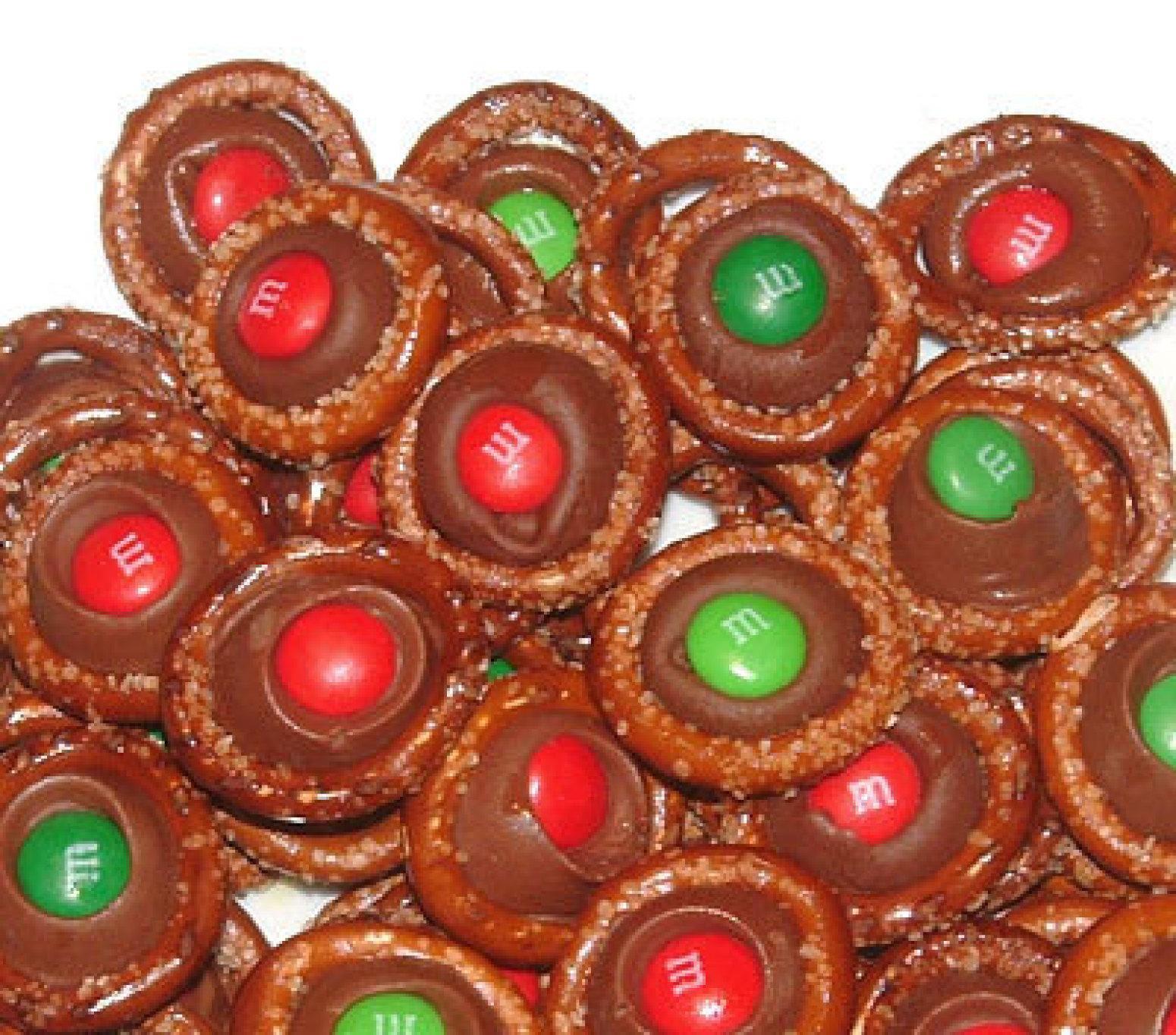 chocolate pretzel rings recipe just a pinch recipes