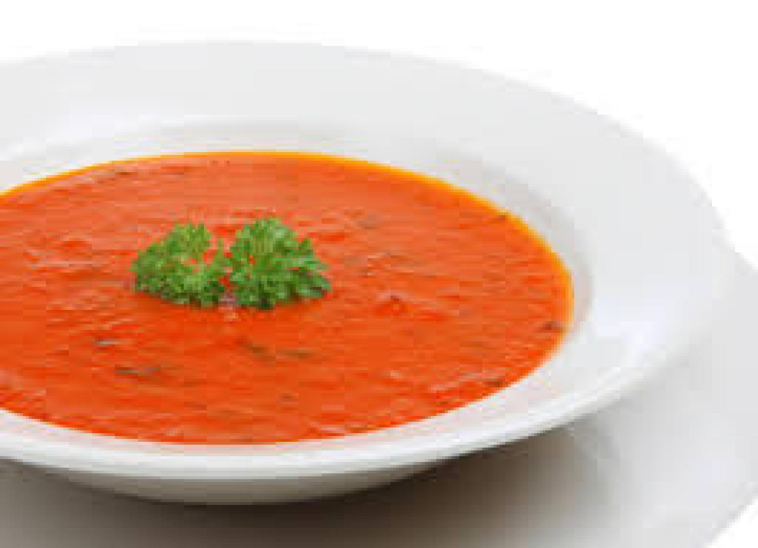 Tomato and Basil Soup Recipe | Just A Pinch Recipes