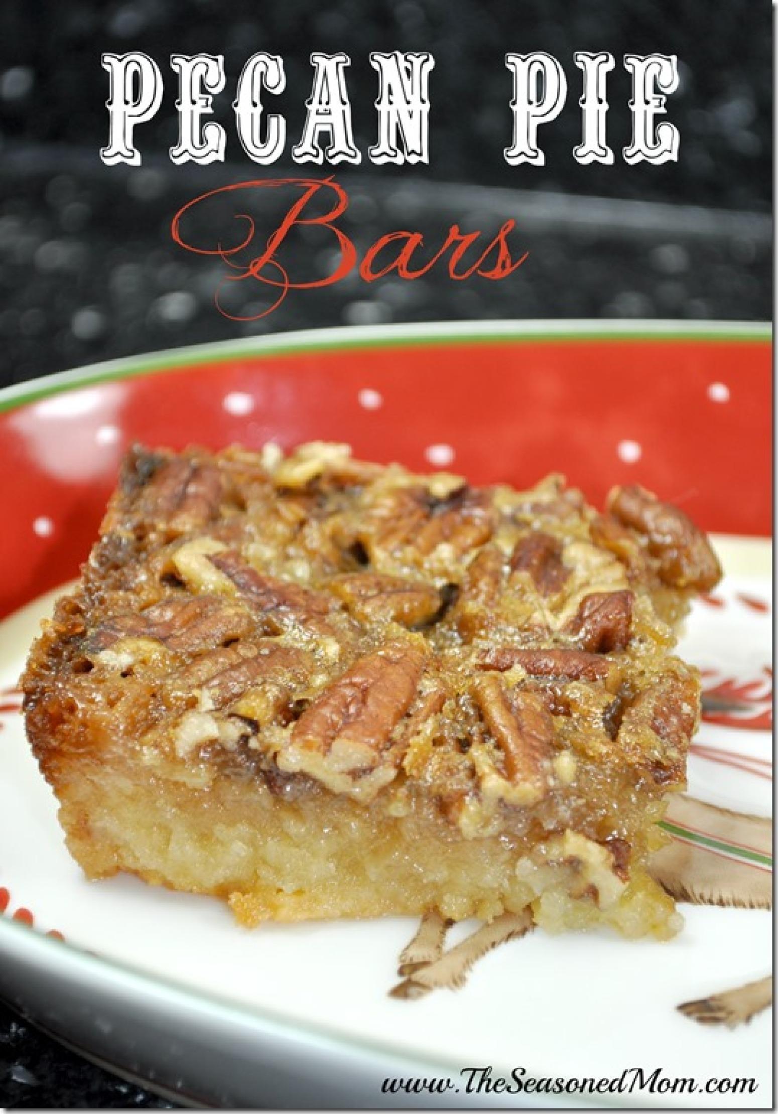 Pecan Pie Bars Recipe 28   Just A Pinch Recipes