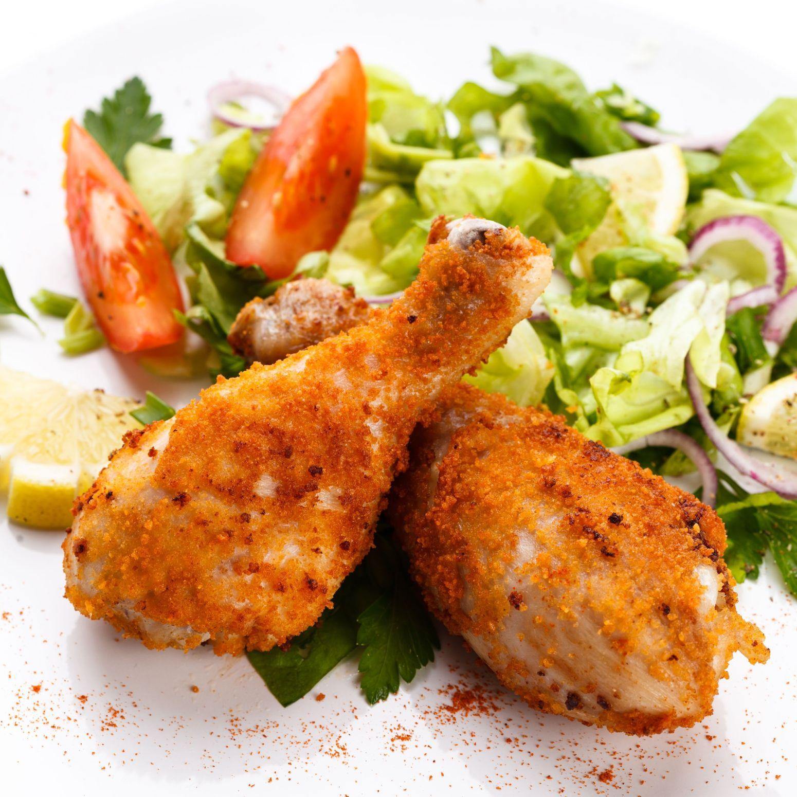 Breaded & Baked Chicken Drumsticks Recipe | Just A Pinch Recipes