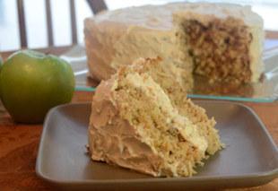Sauerkraut Apple Cake
