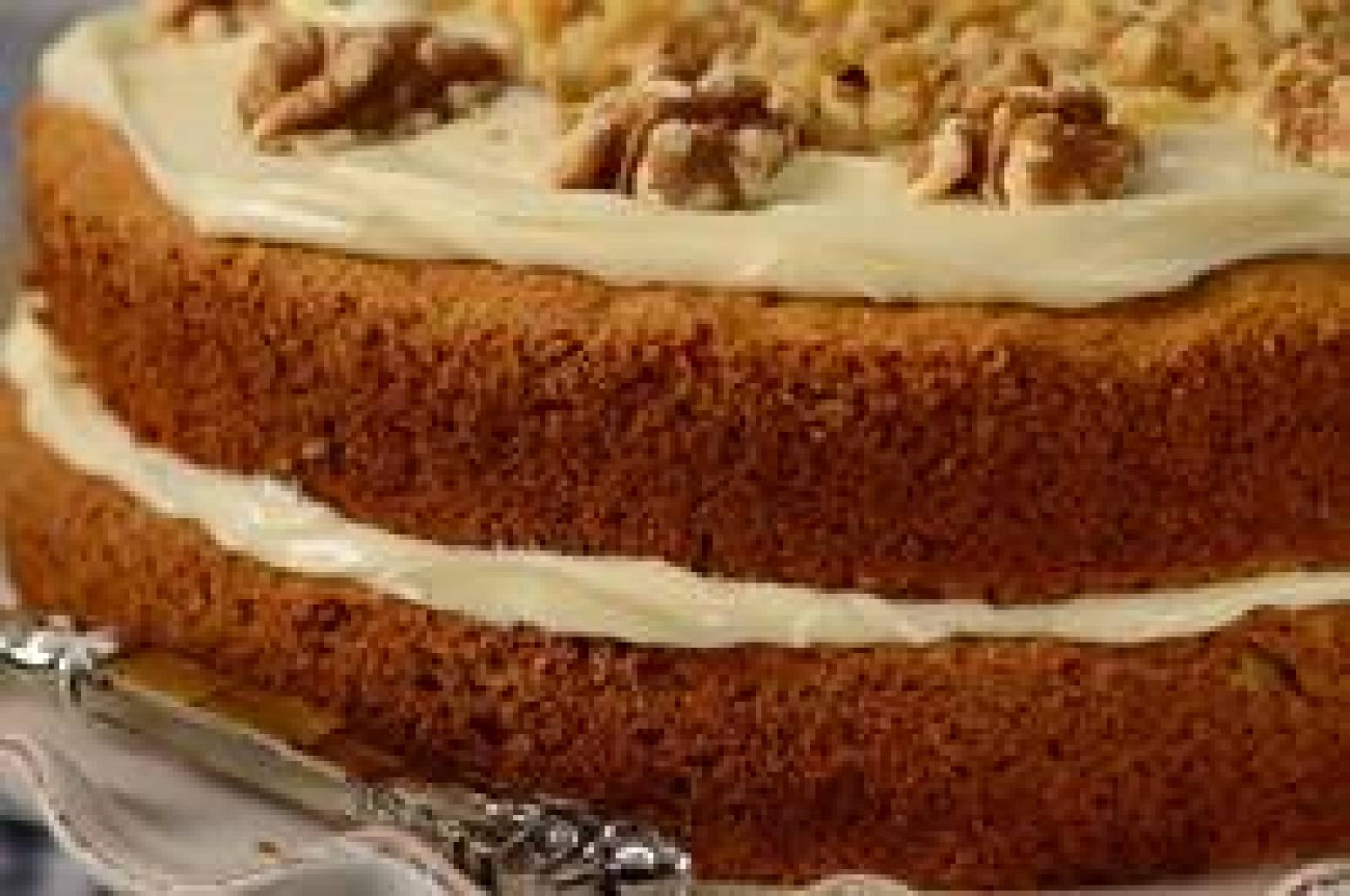 Carrot Cake With Cream Cheese Frosting Joy Of Baking