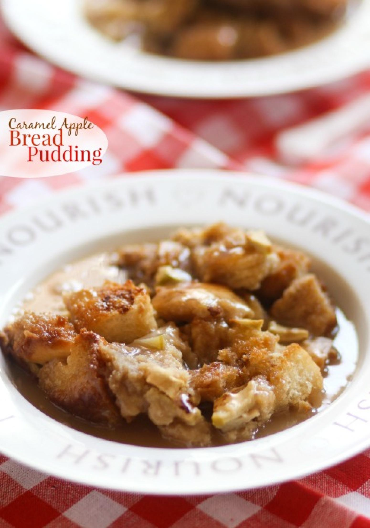 Caramel Apple Bread Pudding {Pampered Chef Giveaway} Recipe | Just A ...