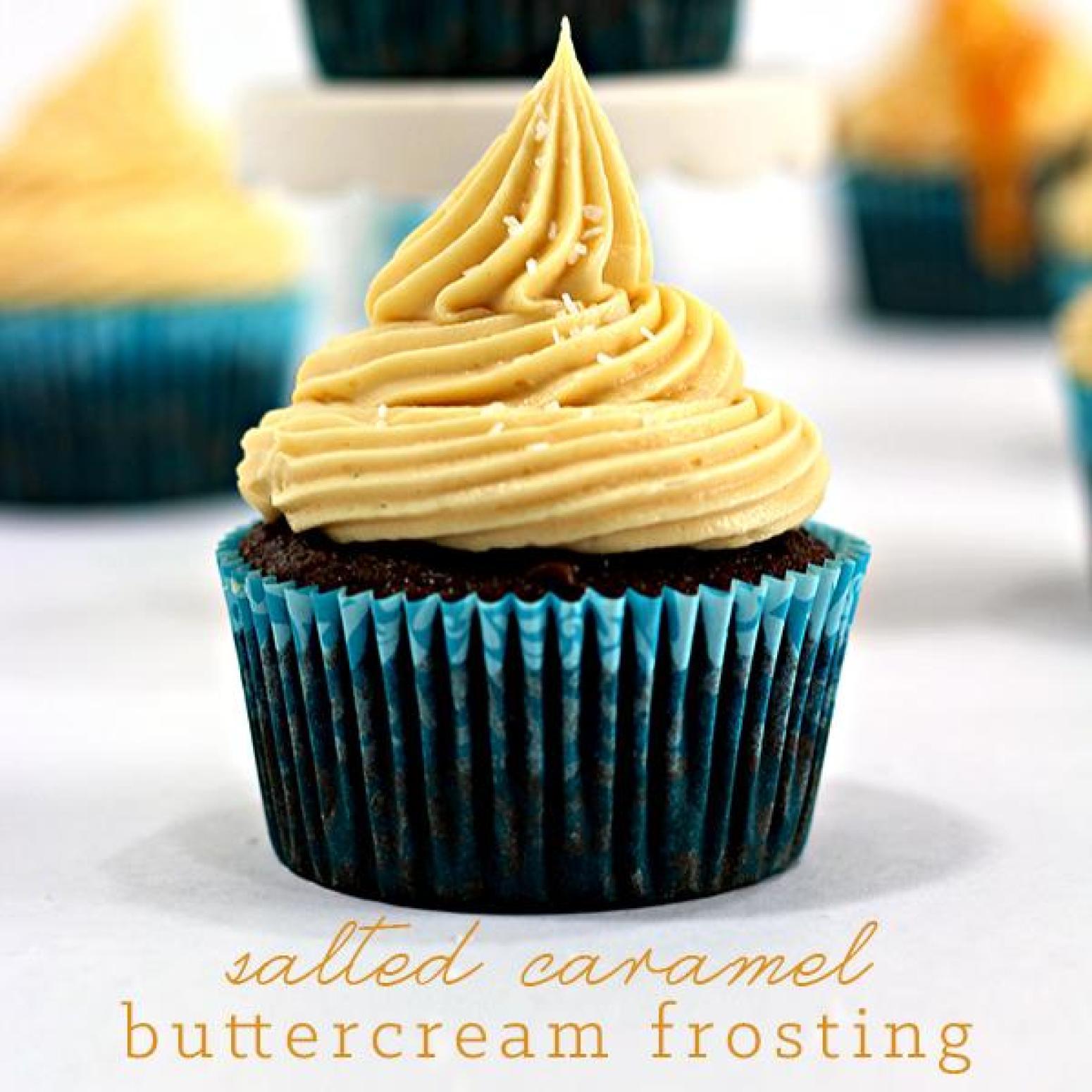 Salted Caramel Buttercream Frosting + Kids Craft - Wanna Bite Recipe ...