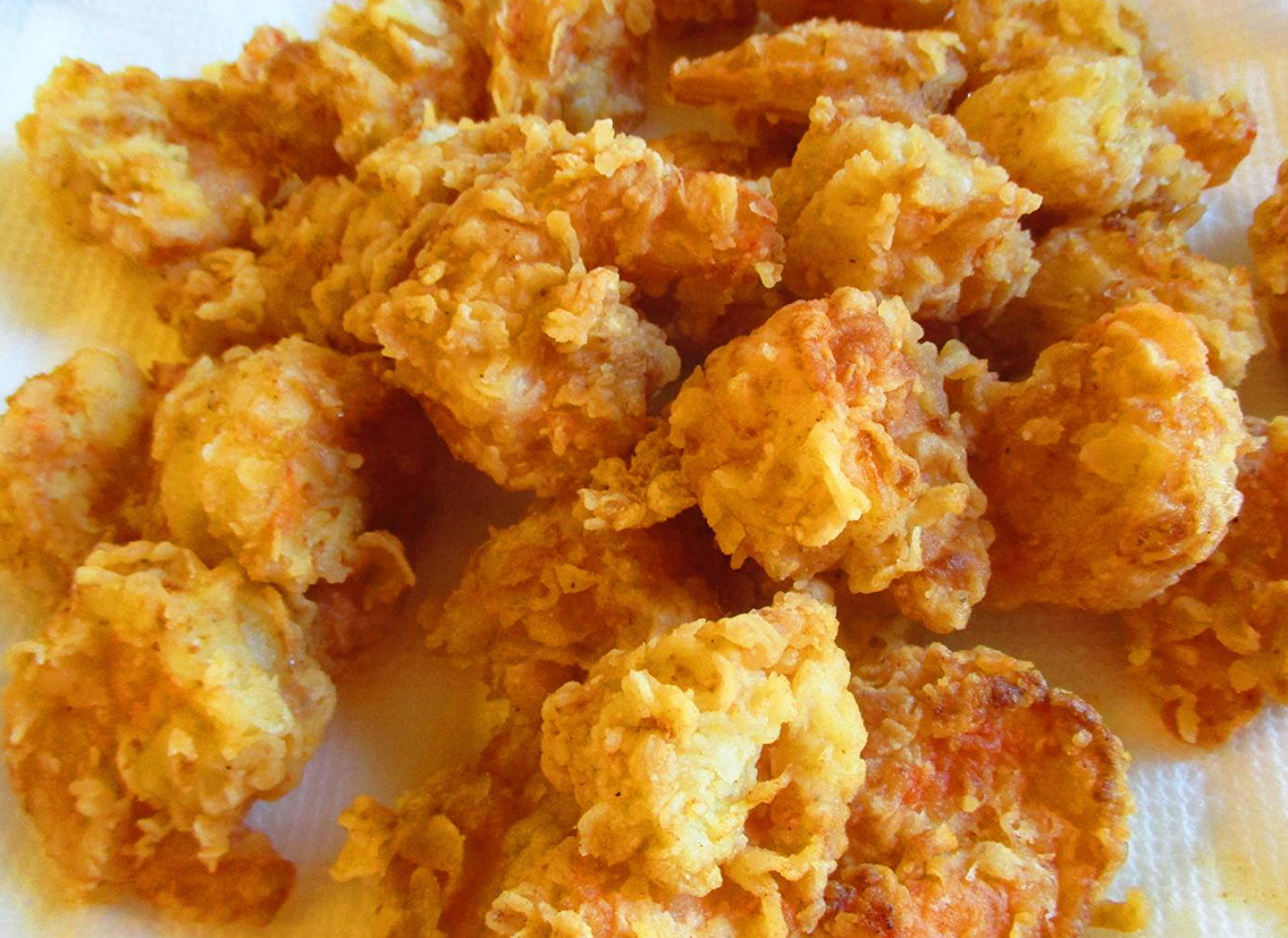 Calabash style fried shrimp recipe just a pinch recipes for Fried fish and shrimp