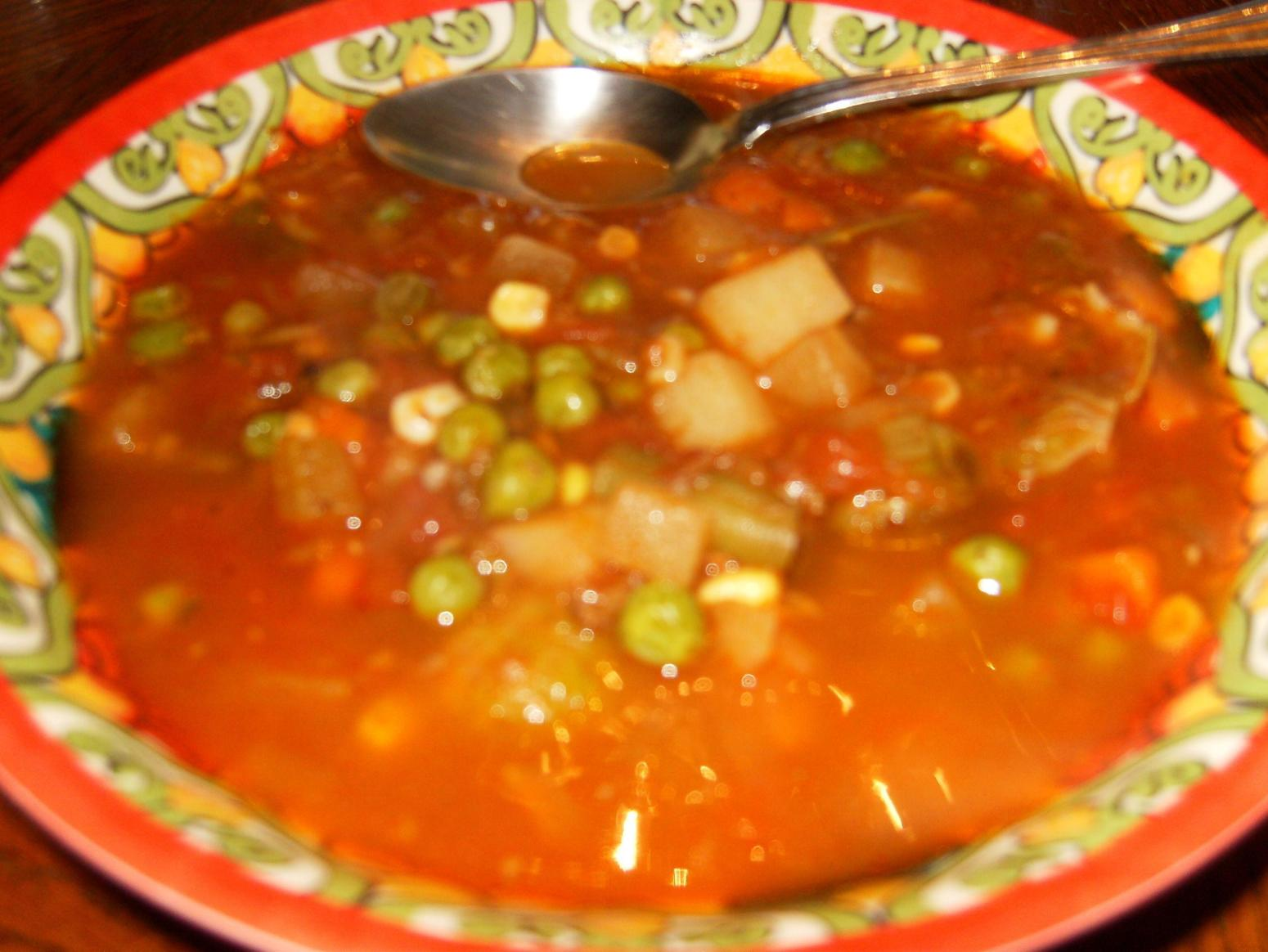 Hearty Homemade Vegetable Beef Soup Recipe | Just A Pinch Recipes